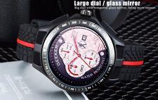 Reloj deportivo Geeker Hombres de cuarzo de Japón Chono f1 carreras de fórmula 1 v8 ICE XL Ferrari