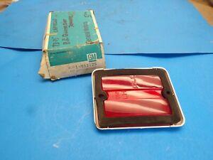 1973 74-77 Chevy Chevelle Laguna Malibu Marker Light Left Rear 5964761 OEM NOS