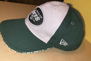 NFL Child New York Jets New Era Adjustable Strapback Hat Cap Green 2016 Preowned