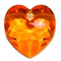 9p 18mm corazón punto atrás de Vidrio Cristal Facetado frustrado Diamante Rhinestone Joyas