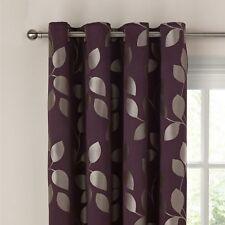 John Lewis Xanthia Cassis Lined Eyelet Curtain W164cm x L182cm