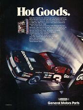1988 Chevrolet Monte Carlo SS NASCAR Advertisement Print Art Car Ad J579 1989