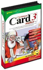Christmas Card Maker 3 - Greeting Creator - PC CD-ROM - Brand New