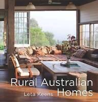 Rural Australian Homes by Leta Keens | Hardcover | FREE Postage