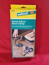 Wolfcraft Quick Adjust Band Clamp Woodworking Tool