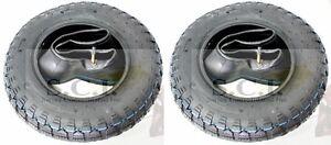 HONDA Z50 Z50A Z50R 6 PLY DOT FRONT & REAR TIRE 3.50 x 8 & TR87 TUBE SET x 2