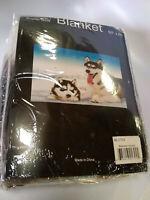Siberian Husky Huskie Dog K9 Wolf  Super Soft Fleece Throw Blanket NEW