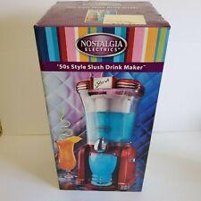 Nostalgia Electrics 50's Style Slush Drink Maker Slushie RSM-650EUR Giles Posner