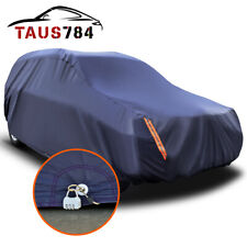 16ft Full Car Cover Waterproof All Weather Protection Suv Fits Shlter with Lock