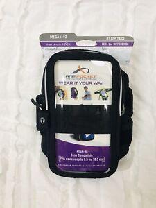Armpocket Mega i-40 Medium Strap Case Compatible Fits Device Up to 6.5'' Armband