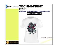 Techni Print Ezp Laser Heat Transfer Paper For Light Colors 11 X 17 50 Sheets