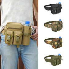 Men Tactical Military Waist Fanny Pack Nylon Travel Climb Hip Bum Belt Chest Bag