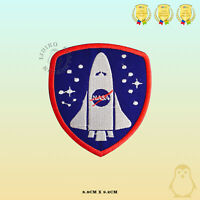 NASA Space Ship USA Badge Embroidered Iron On Sew On Patch Badge For Clothes etc