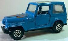 JEEP CJ7 Willys o. WRANGLER YJ m. Hard Top blau ca. 1:55 (No 3333 Welly ?)