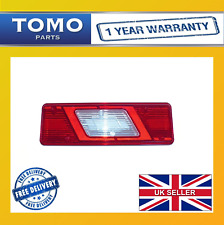 FORD TRANSIT MK8 2014 ON LEFT SIDE TIPPER CHASSIS CAB REAR TAIL LIGHT LAMP LENS