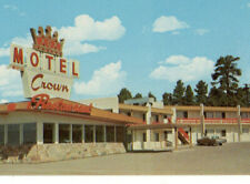 a4 Postcard Crown Motel Restraunt route 66 Flagstaff AZ 194a