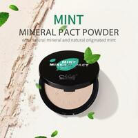 Puff Compact Pressed Face Powder Control Natural Moisturizing Concealer Makeup