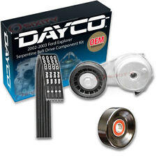 Dayco Serpentine Belt Drive Component Kit for 2002-2003 Ford Explorer 4.0L hk