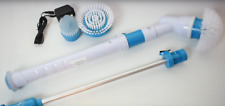 Turbo Scrub Cleaning Brush Spin Mop Scrubber Bath Tiles Floor High Power Home