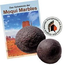 Moqui Marble Lebende Steine Paar ca. 2,5-3cm mit Täschchen, Zertifikat, Booklet