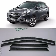 For Hyundai ix35 Tucson 11-15 Window Visors Side Sun Rain Guard Vent Deflectors