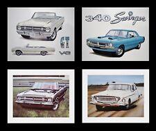 New listing Dart: 1962 1967 1968 1969 1970 1971 1972 1973 318 340 - Dodge Art Prints Posters