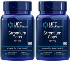 Strontium Caps, Mineral for Bone Health, 750 mg, 180 Vegetarian Capsules