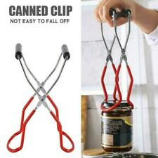Anti-slip Canning Jar Lifter Tongs Stainless Steel Grip Jar Handles with Q2W2