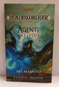 MTG Magic A PLANESWALKER NOVEL AGENTS OF ARTIFICE Ari Marmell 2009 - 16 Pages -