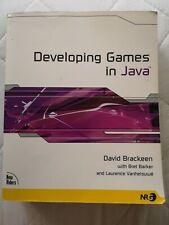Developing Games in Java, Brackeen, David, Used; Good Book