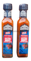 2 x Encona West Indian Extra Hot Pepper Sauce