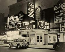 COTTON CLUB NIGHT CLUB VINTAGE PHOTO HARLEM NEW YORK CITY PROHIBITION ERA #21137