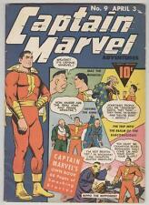 Captain Marvel Adventures #9 April 1942 VG