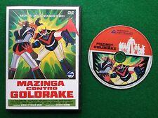 DVD Cartoni animati Robot - MAZINGA CONTRO GOLDRAKE (2006) Hideki e Toshio Mori