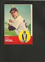 1963 Topps # 573 Coot Veal EX
