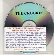 (CU423) The Crookes, I Remember Moonlight - DJ CD