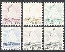 Aland 1984 Boats/Sailing/Fishing/Nautical/Sail/Transport 6v set (n39135)