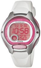 Casio Women's White Resin Watch, Alarm, 50 Meter WR, Alarm, LW200-7AV