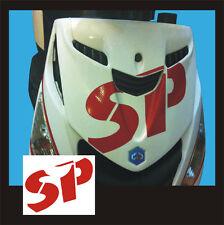 Adesivo Piaggio Zip logo SP Rosso - adesivi/adhesives/stickers/decal