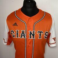 Adidas Tokyo Yomiuri Giants Japan Japanese Baseball Jersey Orange Shirt UK M-L