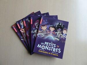 LES PETITS MONSTRES - LOT DE 5 ALBUMS ILLUSTRES