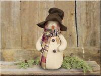 Ellis Winter Snowman Honey&Me Country Christmas Whimsical Winter Decor