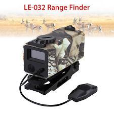 Mini Laser Hunting Range Finder Rifle Scope Distance Meter Waterproof Camouflage