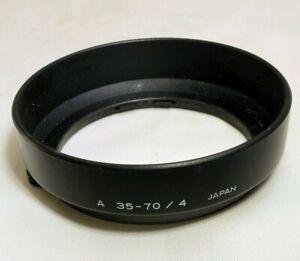 Minolta Lens Hood A 35-70mm f4 f4.0 constant aperture zoom Original  Maxxum AF
