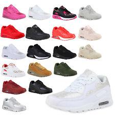 Damen Sportschuhe Glitzer Runners Laufschuhe Sneakers 77086 Top