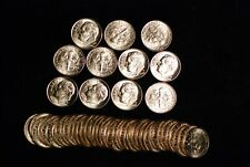 2005-D Satin Finish Roosevelt Dime roll  ( 50 Dimes ) From mint sets