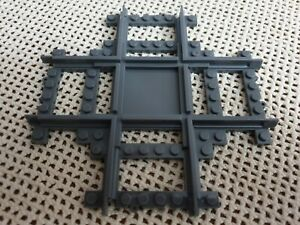 X Cross Over Track City Train Tracks compatible with Lego building block toy
