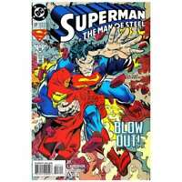 Superman: The Man of Steel #27 in Near Mint + condition. DC comics [*4t]