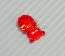 For Axial SCX24 Upgrade Front METAL AXLE COVER Diff Cover Aluminum CNC RED (1)