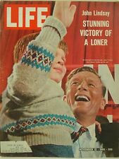 1965 Life Magazine: John Lindsay New York Victory